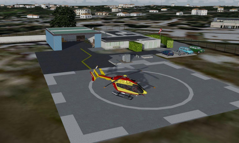 HLAC - Base sécurité civile de Lacanau 2019 - FSX P3D 1
